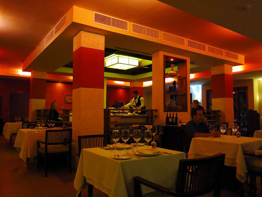 "Im Restaurant ""La Caribes"""