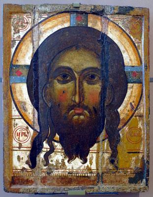 """""""Christusgesicht"""", spätes 13., frühes 14. Jahrhundert, Rostov"""