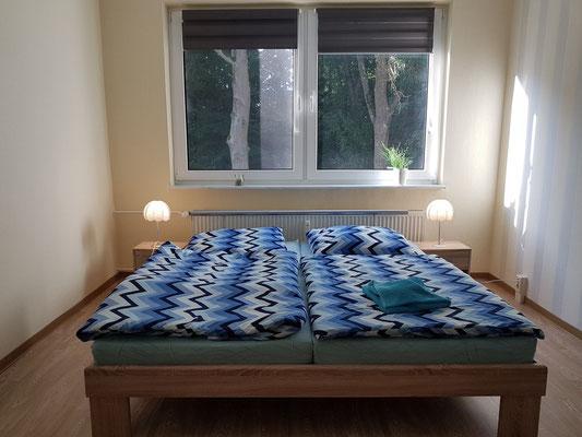 """Neetzow, Ferienwohnung """"Am Schlosspark"""", Schlafzimmer"""