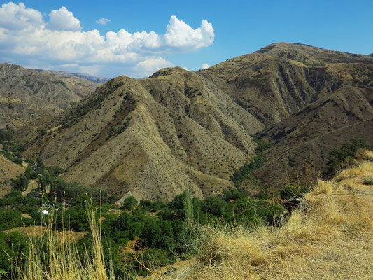 Landschaft bei Garni