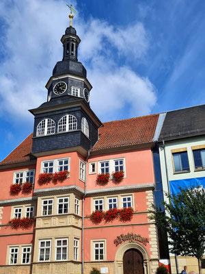 Rathaus, 1508 im Renaissancestil errichtet