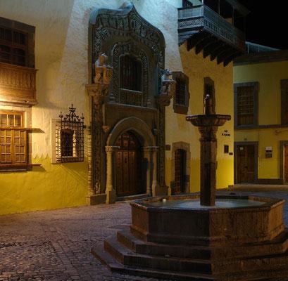 Las Palmas, Casa de Colón (Ende 15. Jh.), ehemals Residenz des Inselstatthalters, heute Kolumbus-Museum