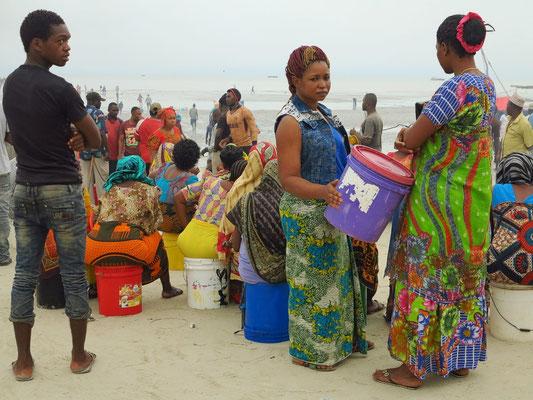 Bagamoyo, Strandszenerie