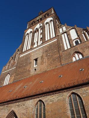 Westfassade von St. Marien
