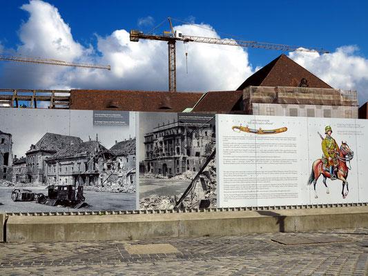 Dokumentation der Zerstörung im 2. Weltkrieg