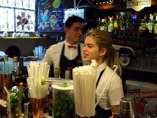 An der Bar von La Vitrola