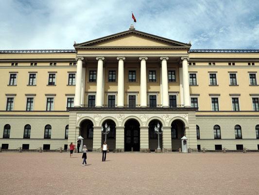 Königliches Schloss Oslo, Richtfest 1836
