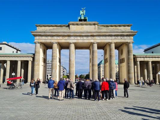 Brandenburger Tor, in den Jahren von 1789 bis 1793 auf Anweisung des preußischen Königs Friedrich Wilhelm II. gebaut
