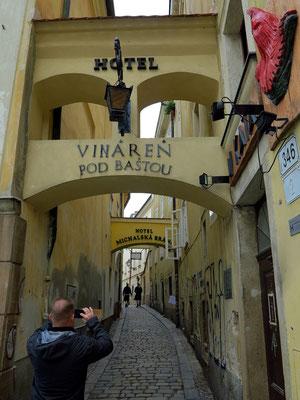 Altstadtgasse Baštová