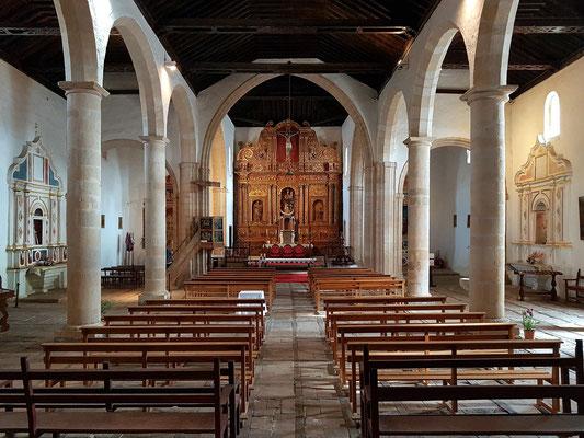 Betancuria, dreischiffige Iglesia de Santa María Betancuria