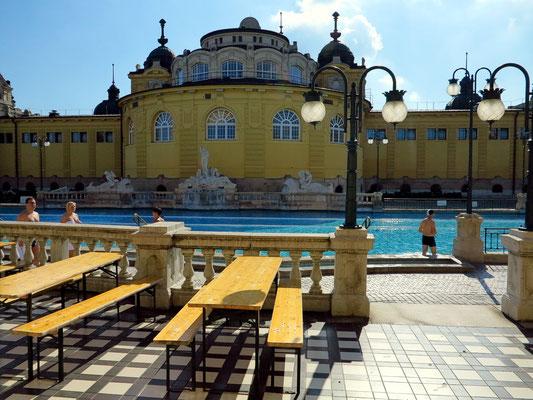 Széchenyi-Heilbad, Freibad