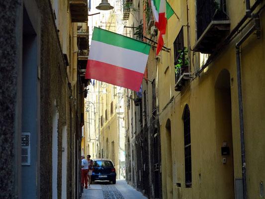 In der Altstadt von Cagliari