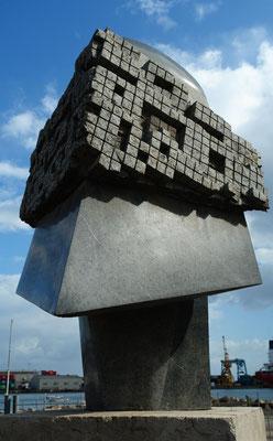 Puerto del Rosario, El Guerrero (Krieger) von Nicolas Fleming