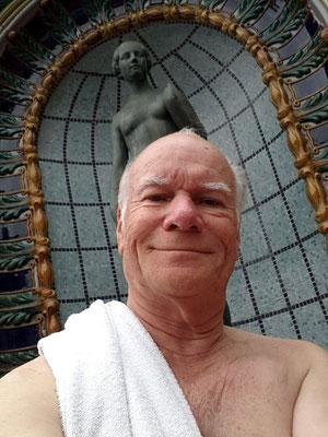 Gellért Thermalbad, eine Wohltat am kalten Tag