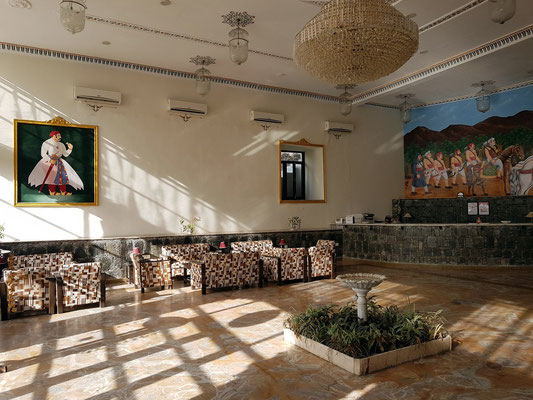 Reception des Hotels The Amargarh
