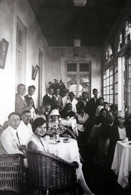 Historische Aufnahme aus der Zeit der deutschen Kolonie (Colónia Alemã)