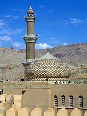Qabus-Moschee in Nizwa
