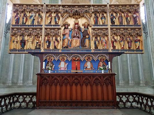 St.-Marien-Kirche, Marienkrönungsaltar, vor 1498