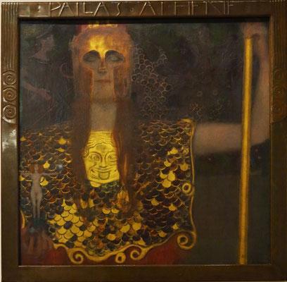 Gustav Klimt (1862-1918): Pallas Athene, 1898, Öl auf Leinwand