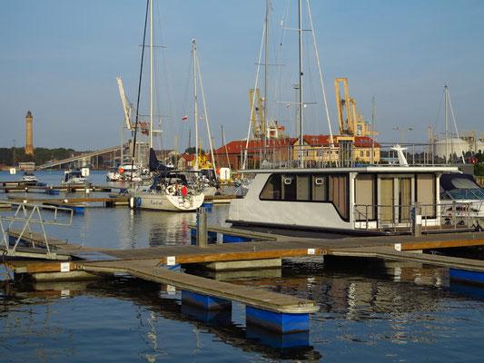 Yachthafen von Świnoujście