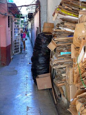 Wohngasse im Centro Habana