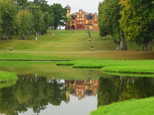 Blick vom Schlossgarten zum Offizierskasino