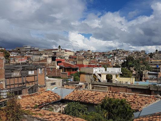 Blick vom Dach des Hostals Girasol
