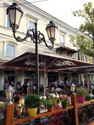 Mc Café, Derybasivs'ka Street