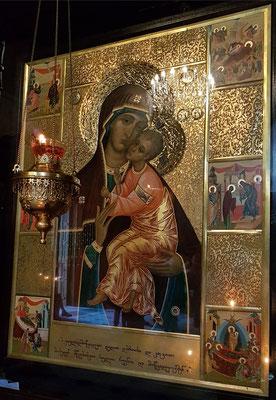 Ikone der Muttergottes in der Sioni-Kathedrale