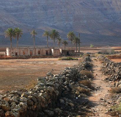 La Oliva, Ruine in der Nähe der Casa de los Coroneles