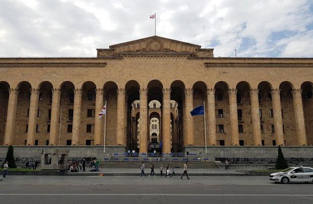 Parlamentsgebäude von Georgien, Rustaveli Avenue