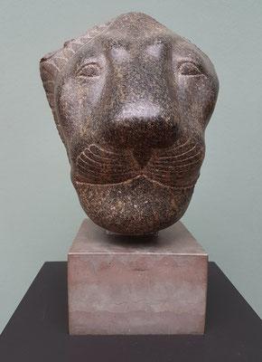 Löwengott Sakhmet, Fundort unbekannt, Diorit, Herrschaft von Amenophis III, ca. 1400-1365 BC