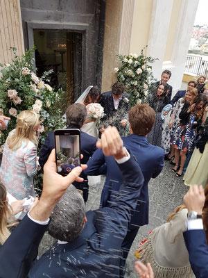 Hochzeit in der Santuario S. Maria delle Grazie Incoronata, Procida