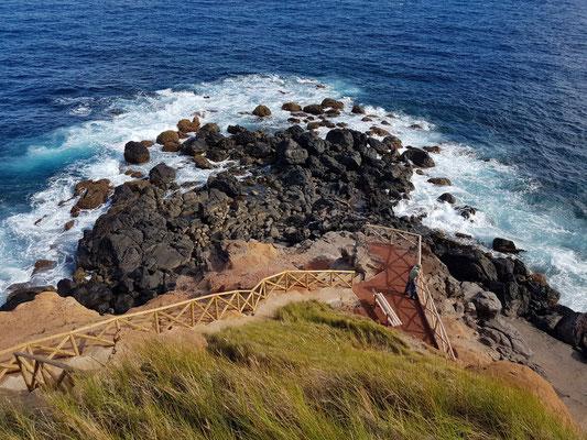 Küste von Topo
