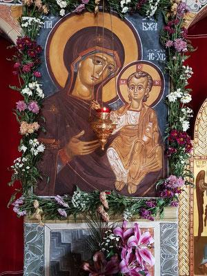Ikone der Muttergottes mit Kind