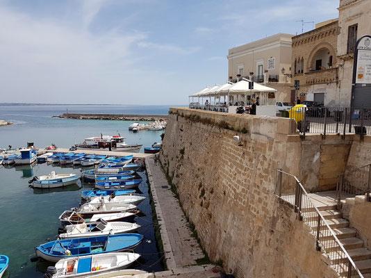 Beim Castello di Gallipoli