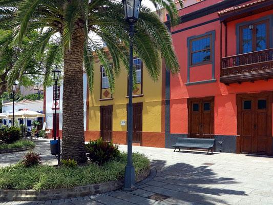 San Andrés, Calle Plaza mit Restaurant La Placita