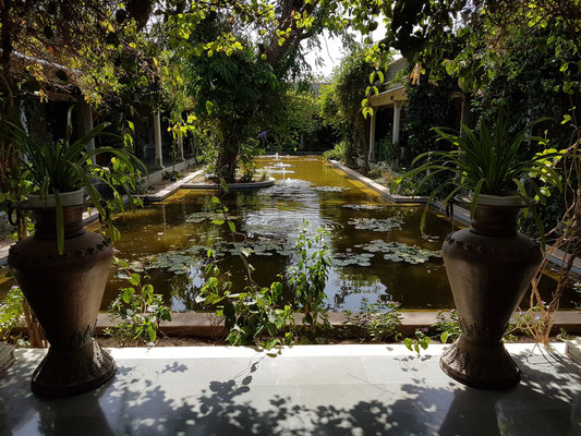 Die Gartenanlage unserer Raststätte