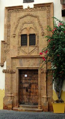 Las Palmas, Stuckportal der Casa de Colón