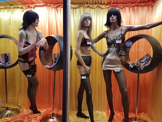 Auslage in einem Sex-Shop