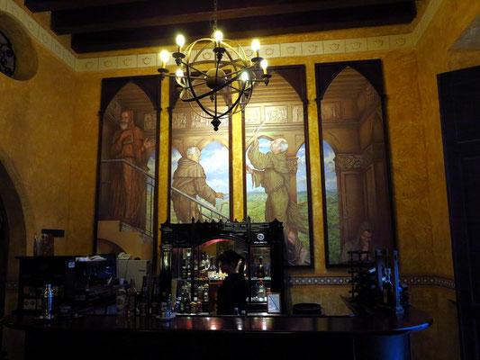 Bar im Hotel Los Frailes