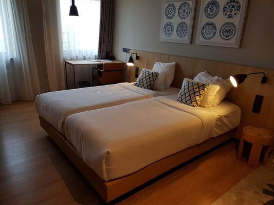 Urban Lodge Hotel in Amsterdam-Sloterdijk, mein Zimmer 412