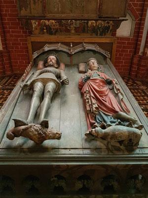 Grabtumba für Schwedenkönig und Herzog Albrecht III. (†1412)