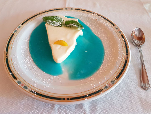 "Dessert: Panna Cotta ""Isla Bonita"""