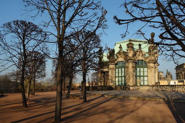 Der Zwinger, Wallpavillon (10.3.2008)