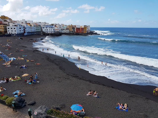 Playa Maria Jiménez und Punta Brava