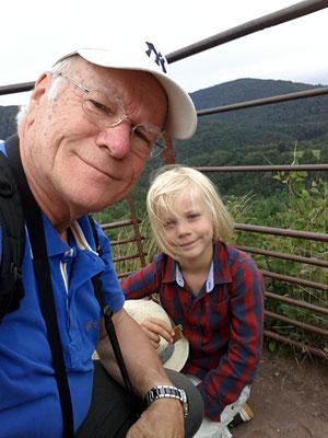 Opa Frank und Enkel Alexander