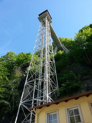 Aufzug von 1905 von Bad Schandau nach Ostrau