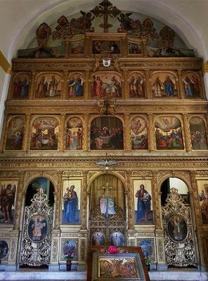 Kloster Praskvica, Ikonostase in der Kirche