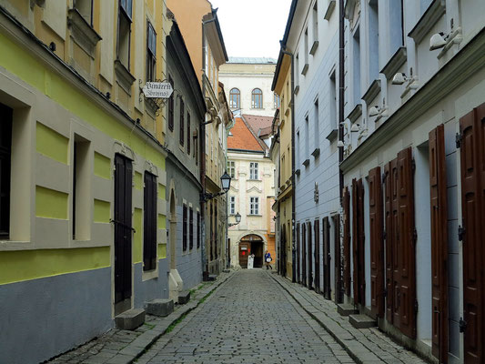 Altstadtgasse Zámočnická